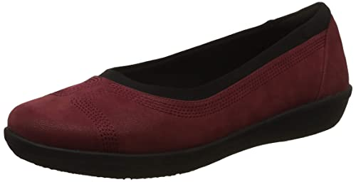 Ayla Low Burgundy Loafers-6.5
