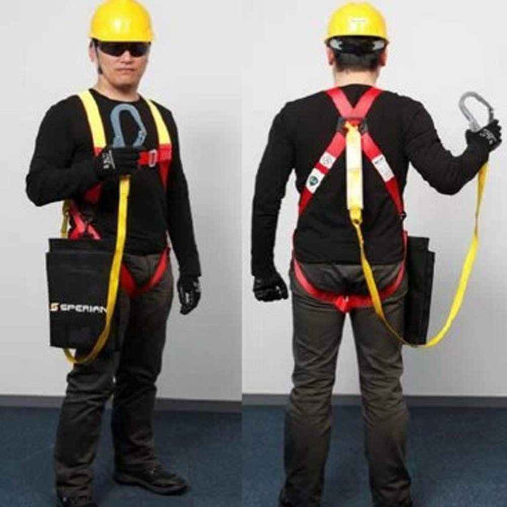 Full Body Harness, high Altitude Protection, Power Detection seat Belt Set by HENRYY (Image #5)