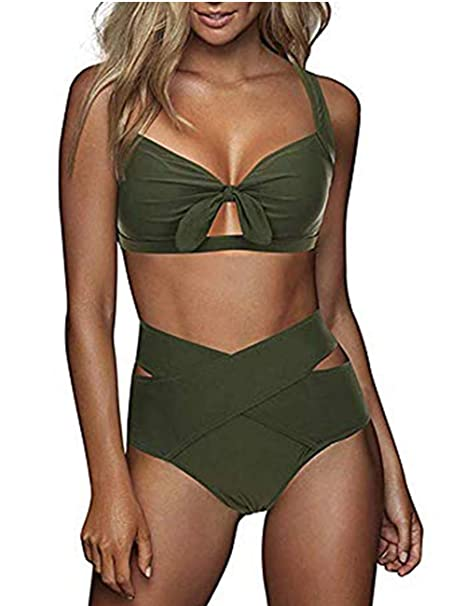 new product 9f87f 35d03 FeelinGirl Bikini Set Damen Sexy Bademode Push Up Bikinis Badeanzug  Zweiteiler Strand Swimwear Swimsuits Beachwear