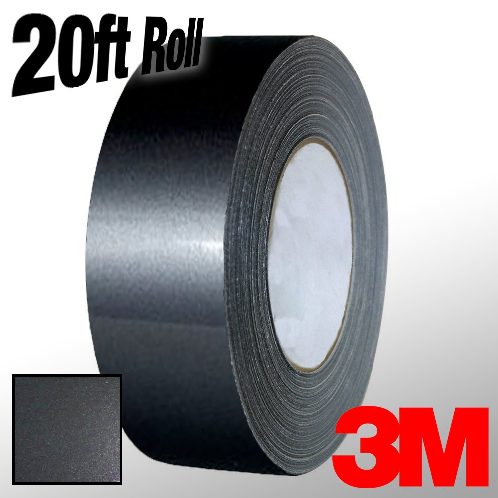 1//4 x 20ft VViViD 3M 1080 Grey Anthracite Gloss Vinyl Detailing Wrap Pinstriping Tape 20ft Roll
