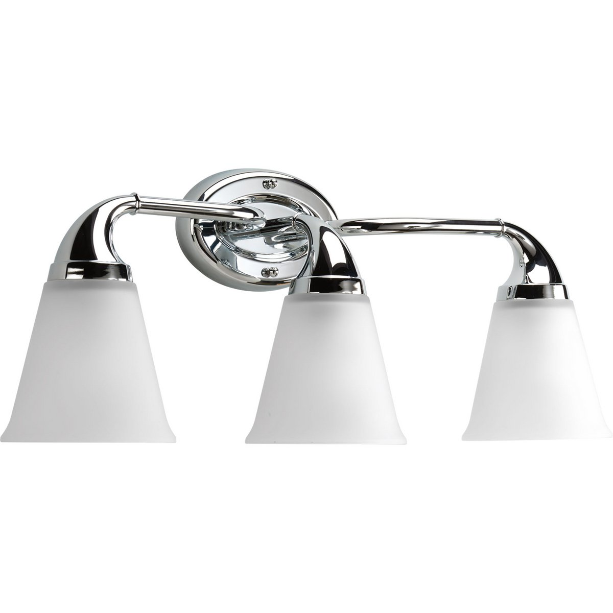 Progress Lighting P2760-15 3-Light Bath Which Mounts Up Or Down, Polished Chrome