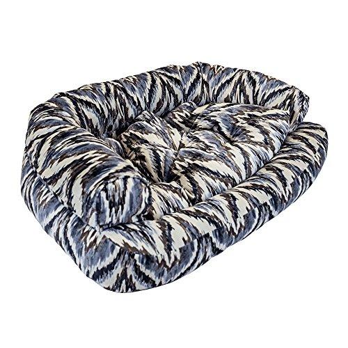 Snoozer Luxury Overstuffed Microsuede Pet Sofa