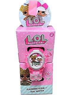LOL Surprise Flashing LCD Kids Watch (Pink Icon)