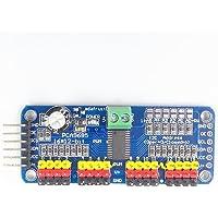 JZK PCA9685 16 kanalen 12 bit 16 canali 12 Bit PWM servomotor driver module IIC converter interface analoog digitaal…