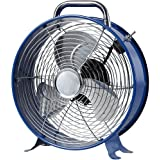 "Principal 9"" Retro Fan, Blue"