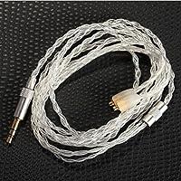 5N OCC Audio Cord Upgrade Cable for Shure SE215 SE425 SE535 SE846 UE900 White