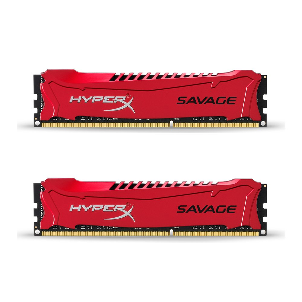 Kingston HyperX Savage HX318C9SRK2/16 Arbeitsspeicher 16GB DDR3-RAM Kit (2x8GB) (1866MHz, CL9)