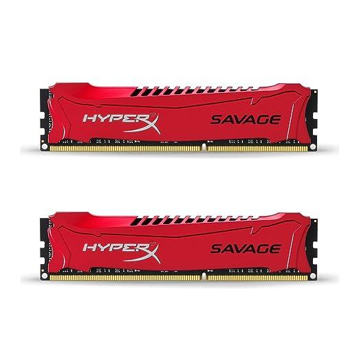 99 opinioni per HyperX Savage Kit 2 x 4 GB, 1600MHz, DDR3, Non-ECC, CL9, DIMM, XMP
