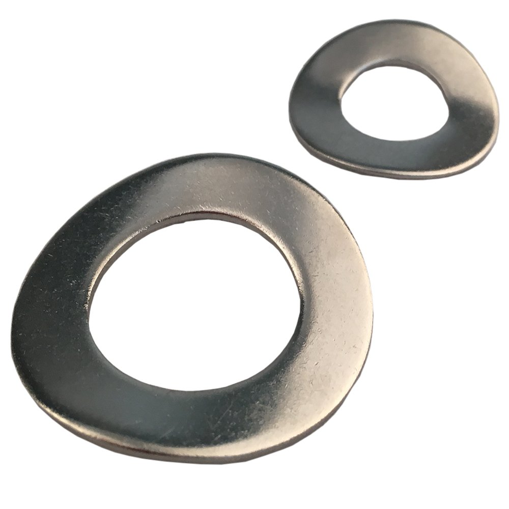 Federscheiben M4 Form B gewellt DIN 137 Edelstahl A2 (5 Stü ck) - Unterlegscheiben Beilagscheiben Wellscheiben D´s Items