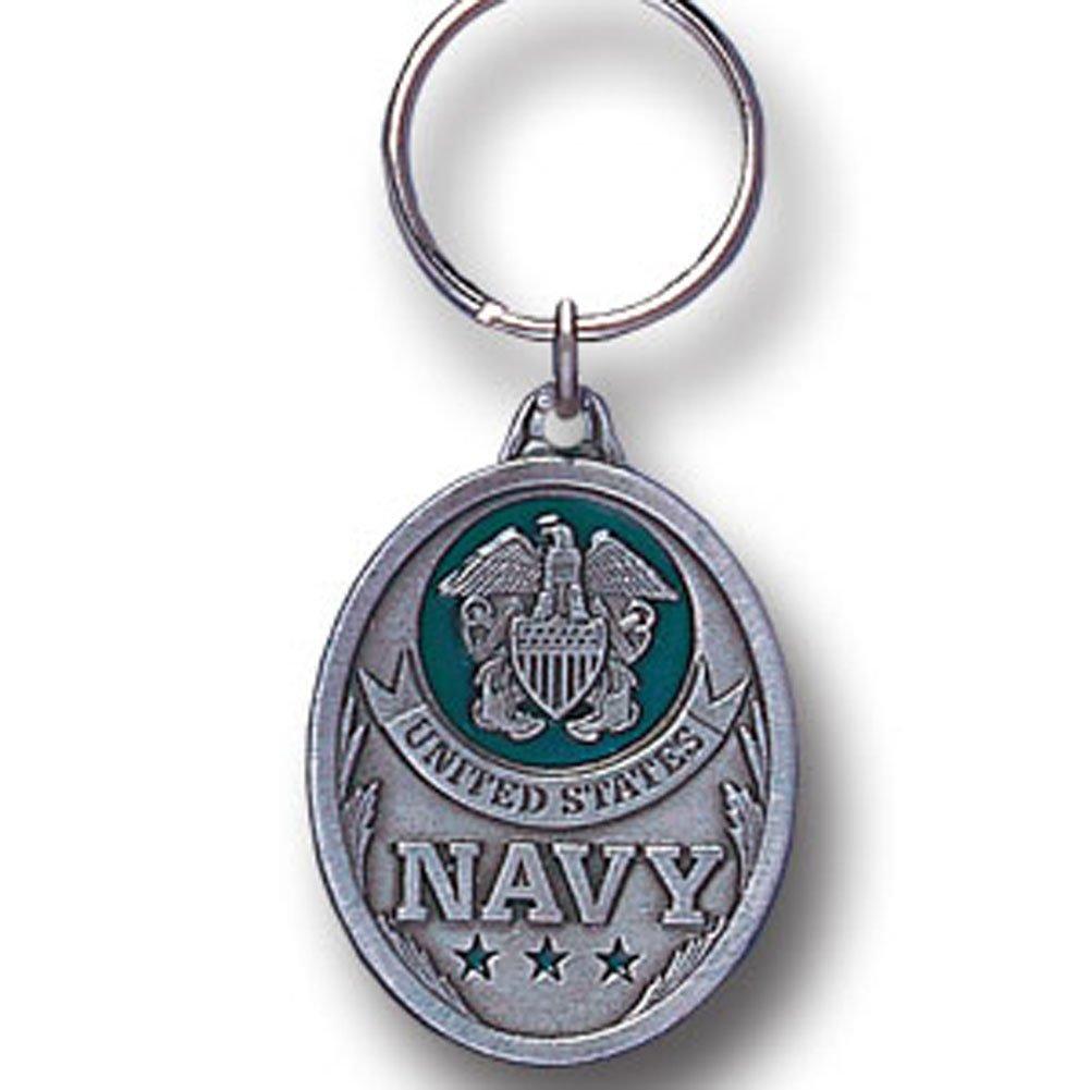 US Navy Oval Pendant Keychain