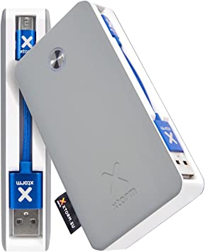 Xtorm Travel 6000 batería Externa Plata 6000 mAh: Amazon.es ...