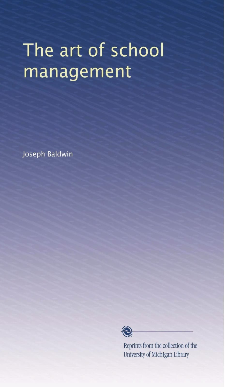 The art of school management pdf epub