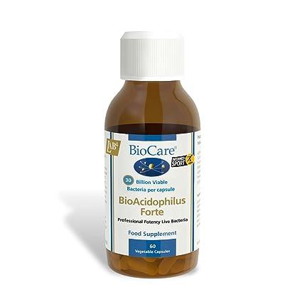 Biocare Bio-Acidophilus Forte Vegetable - Pack of 60 Capsules