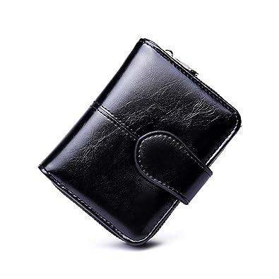 HONGkeke para Mujer Mini Bifold Billeteras pequeñas Señora ...
