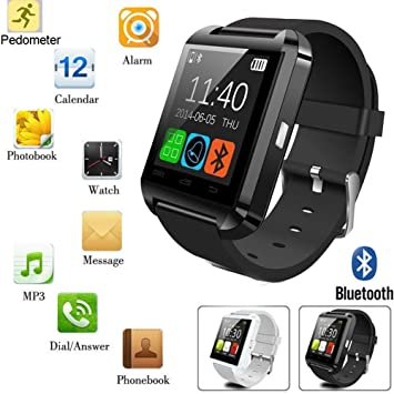 Sunshop® U8 Sport Bluetooth intelligent Montre Wrist Watch Phone Mate smartwatch connectée montre