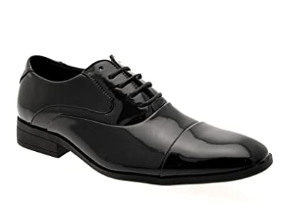230bb80c73f Image Unavailable. Image not available for. Colour  MENS SMART OXFORD LACE  UPS   SLIP ON LOAFERS MULES FORMAL OFFICE WORK WEDDING SHOES SIZE