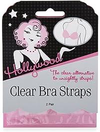 Hollywood Fashion Secrets Clear Bra Straps
