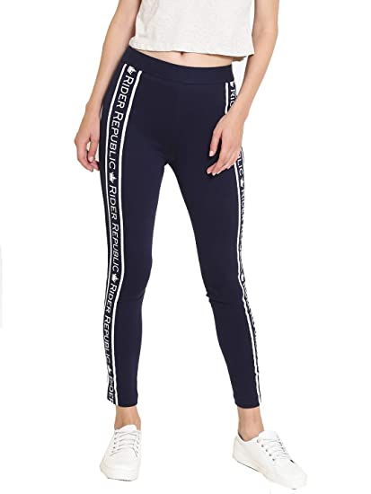 3a15bf87bad59 Rider Republic Navy Blue Jeggings 502076RR: Amazon.in: Clothing ...