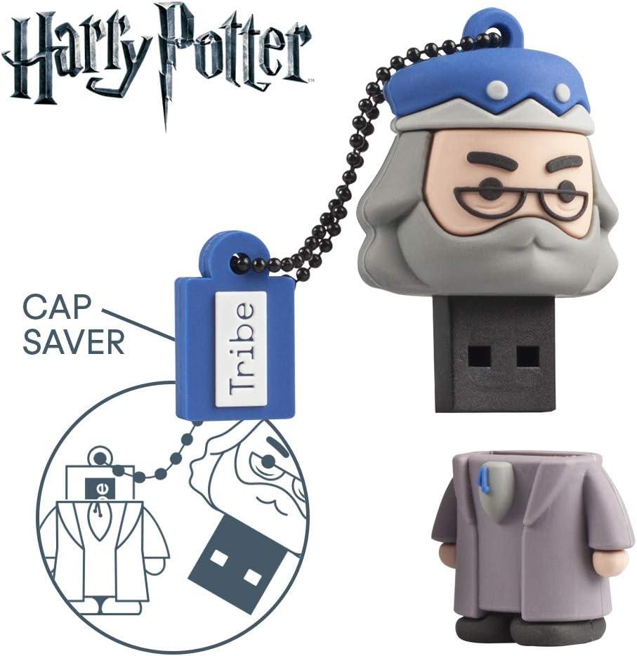 Llave USB 32 GB Albus Dumbledore - Memoria Flash Drive Original Harry Potter, Tribe FD037704