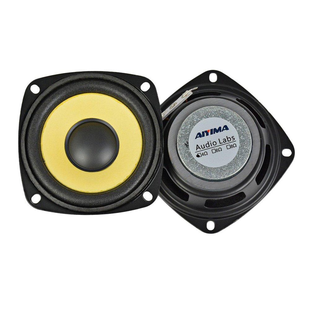 AIYIMA 2Pcs 3Inch Audio Portable Speakers Full Range 4Ohm 10W Speaker Magnetic Multimedia Loudspeaker DIY HIFI Home Theater by AIYIMA (Image #5)