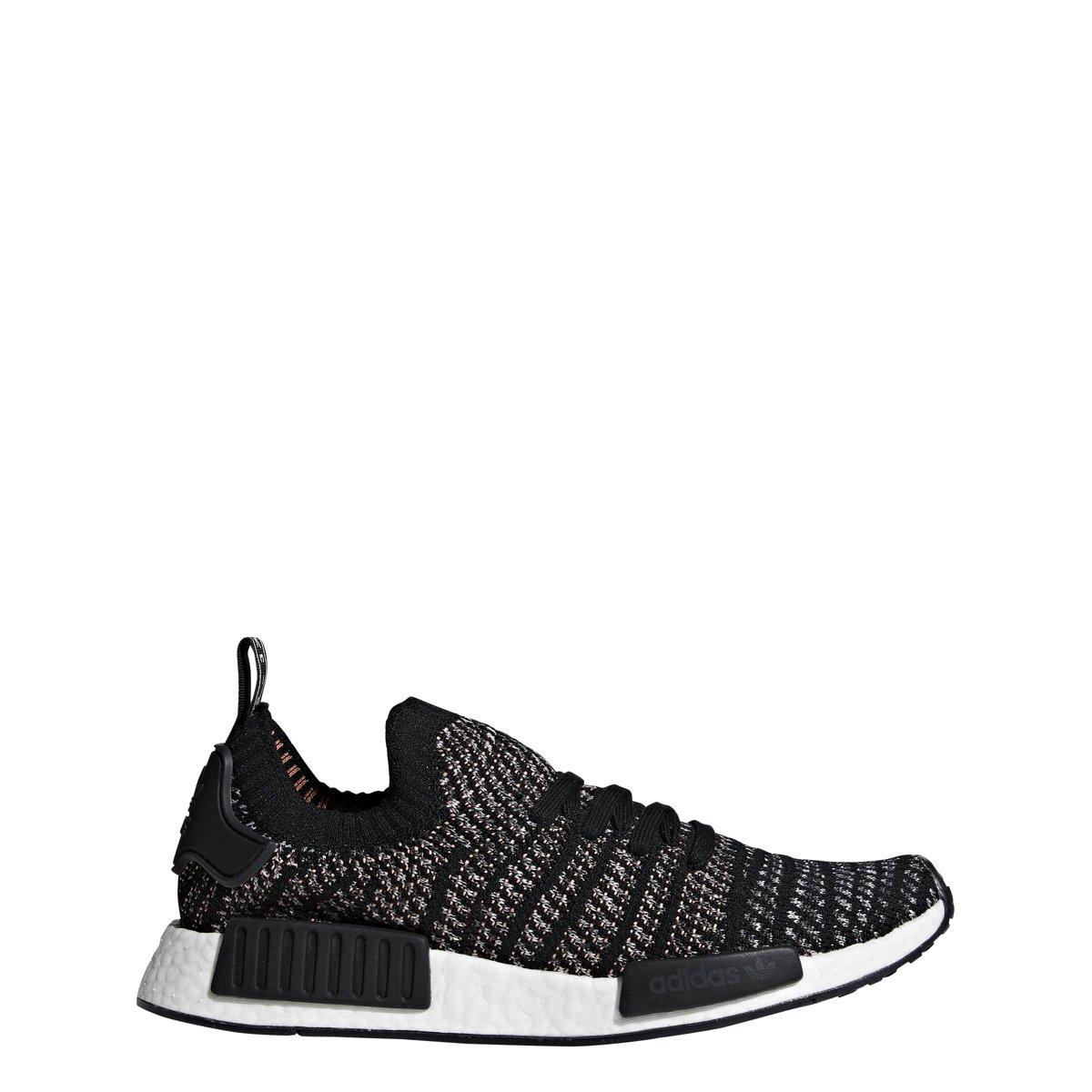 Adidas Originals NMD_R1 STLT Primeknit chaussures Hommes's Décontracté 11 noir-gris noir-gris  le plus en vogue