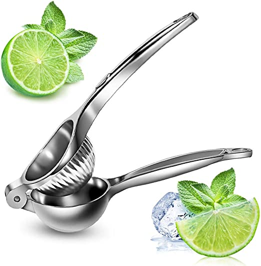 Stainless Steel Juicer Lemon Lime Orange Fruit Squeezer Hand Press Home Tool New