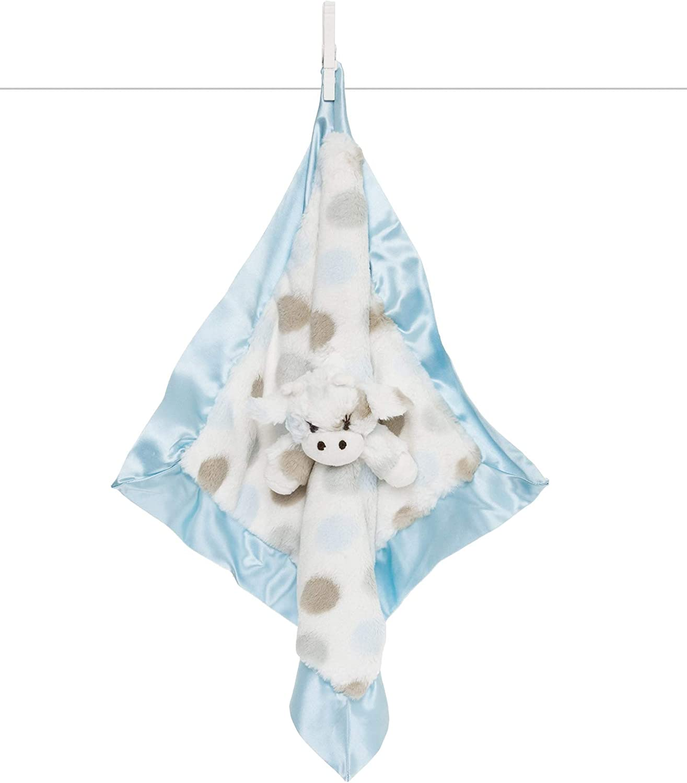 Animal Security Blanket Little Giraffe Little G Blanky Blue