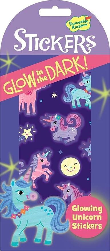 Peaceable Kingdom Glow in The Dark Starry Sky Sticker Pack Mindware