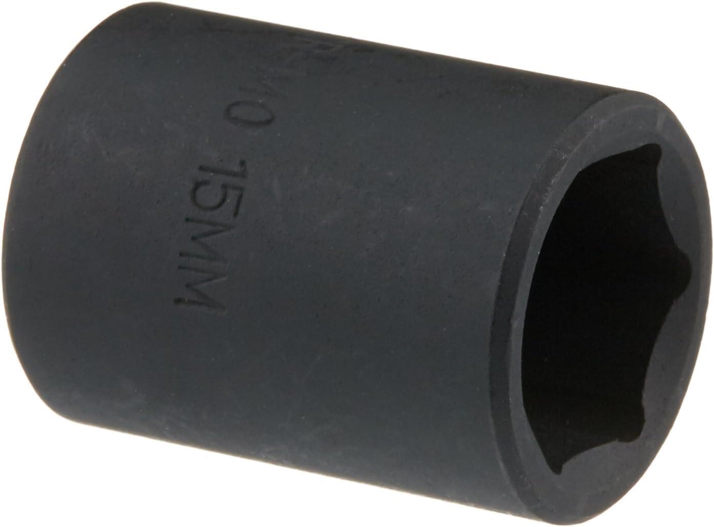 Sunex 315md 3//8-Inch Drive 15-Mm Deep Impact Socket