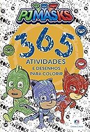 PJ Masks - 365 atividades e desenhos para colorir