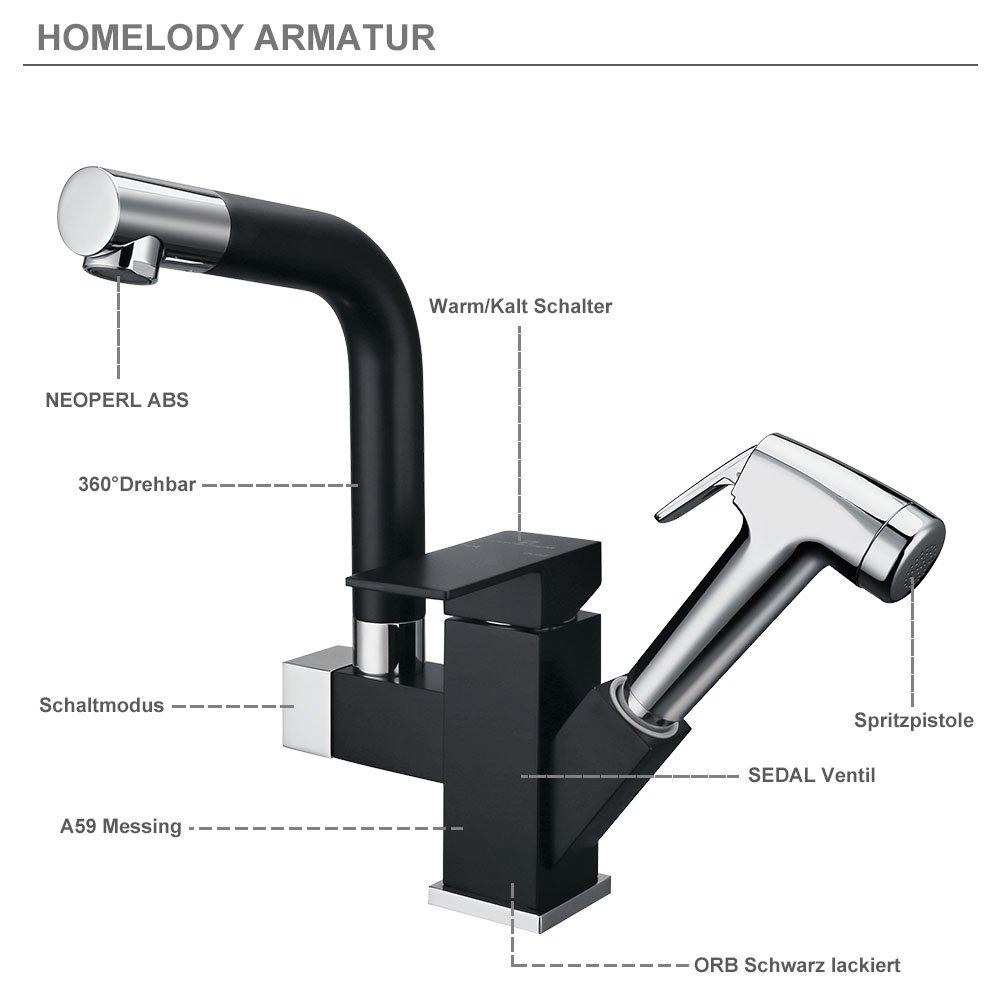 Neu Wasserhahn Küche Kaufen: Badezimmer armatur mit brause ~ surfinser  CO42