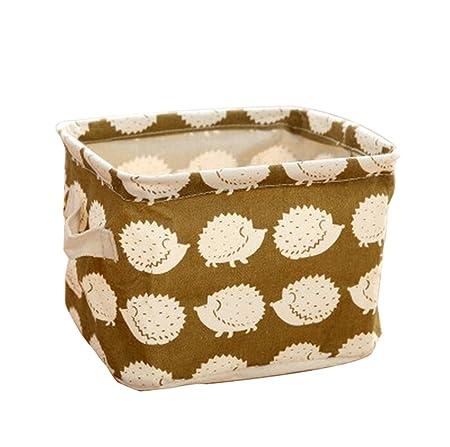 Impermeable Estilo de Ballena Da.Wa Cestas de Almacenamiento Caja de Organizadores para Ropa Interior Calcetines Juguetes
