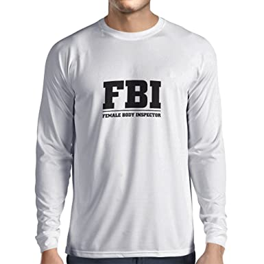 d7ea4f18 lepni.me Men's T-Shirt Female Body Inspector - FBI - Silly Acronym, Funny  Sarcastic Quotes