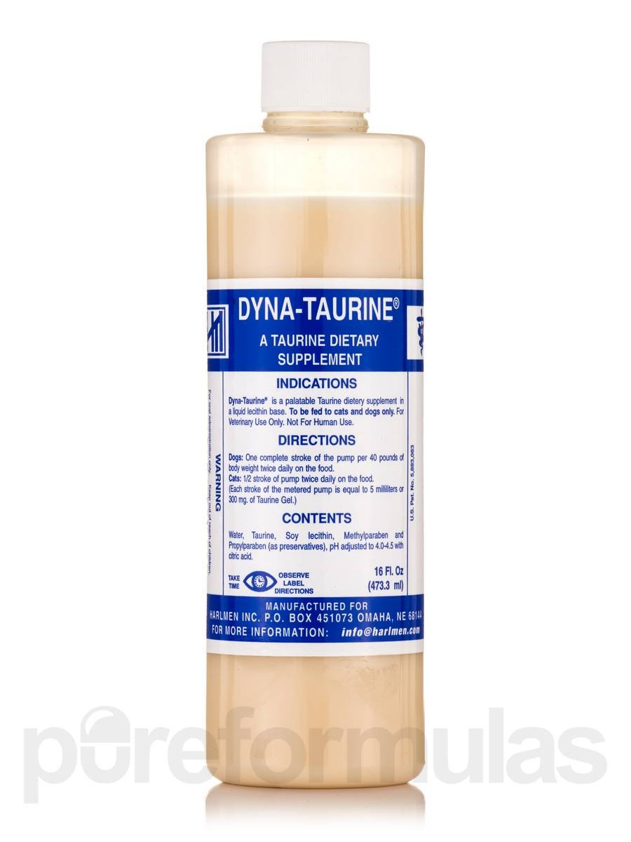 Dyna-Taurine Dietary Supplement 16 FL OZ by Dyna-Taurine