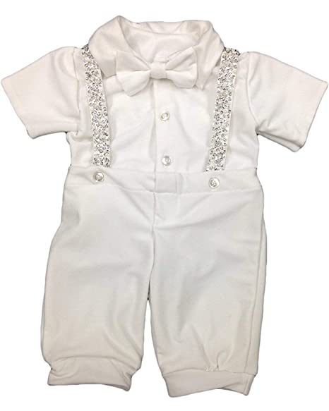 Amazon.com: Faithclover - Traje de bautizo para niños recién ...