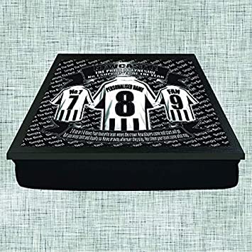 Newcastle United Football Shirt Personalised Lap Tray Gift