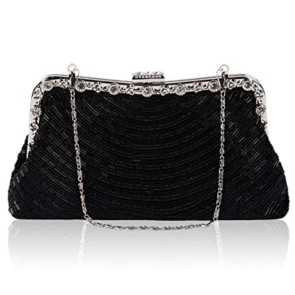 Amazon.com: YOUTO Evening Party Clutch Bags Ladies Evening ...
