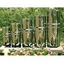Berkey BT2X2-BB Travel Stainless Steel Water Filtration System with 2 Black Filter Elements