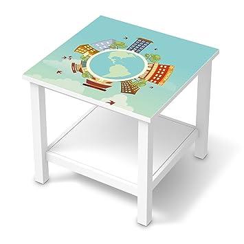 Möbeldeko Für Ikea Hemnes Beistelltisch 55x55 Cm Deko Folie
