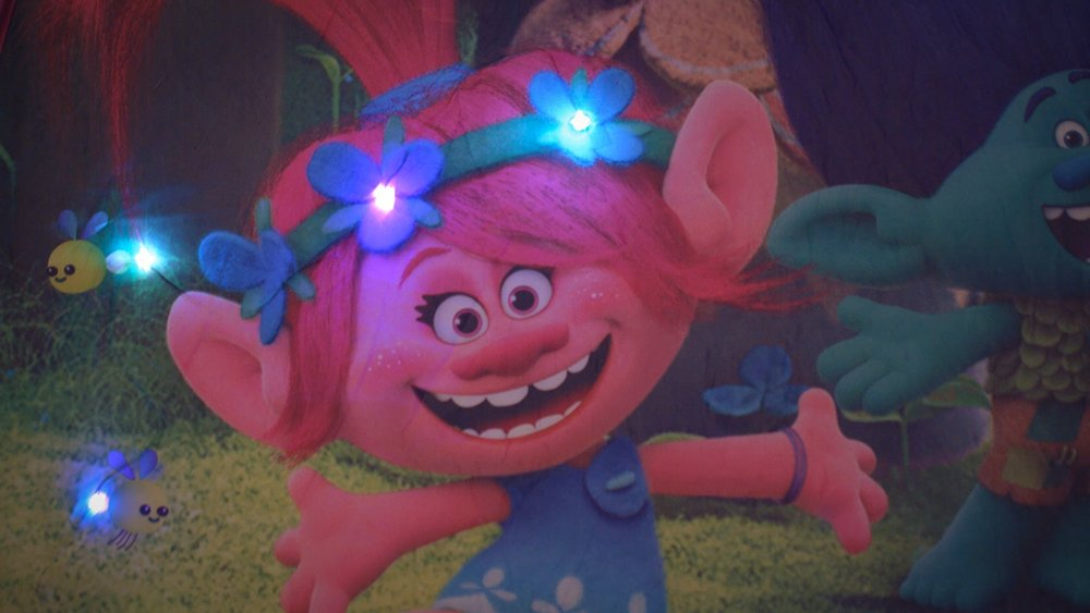 John Tenda Gioco Trolls con Luce Multicolore 78112