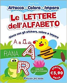 Le Lettere Dellalfabeto Ediz Illustrata Amazonit Roberta Fanti