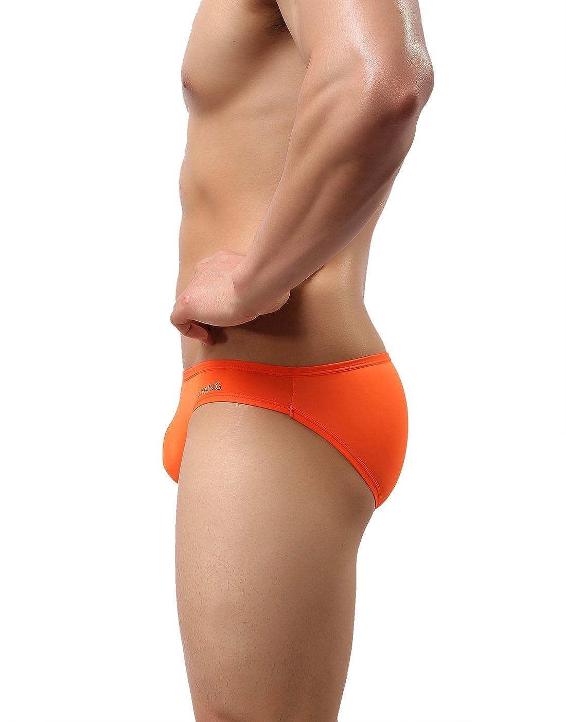 WOWHOM Mens Bikini Briefs Sport Underwear 9017