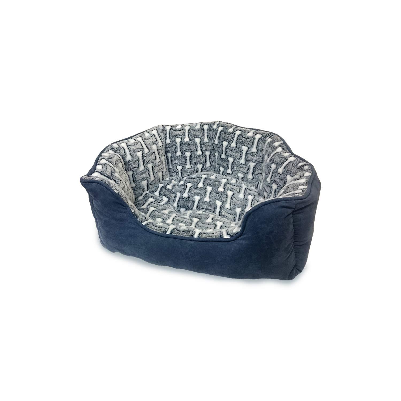 vendita outlet online Etico Pets Pets Pets Sleepzone Scallop Fase Ossa in Letto per Cani  prima qualità ai consumatori