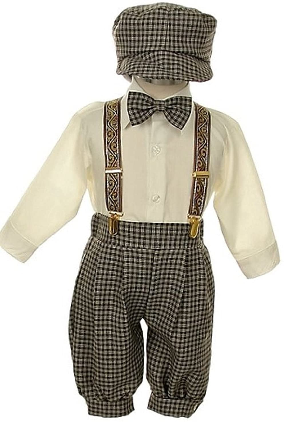 1920s Children Fashions: Girls, Boys, Baby Costumes iGirlDress Vintage Dress Suit-Tuxedo Knickers Outfit Set Baby Boys & Toddler $35.00 AT vintagedancer.com