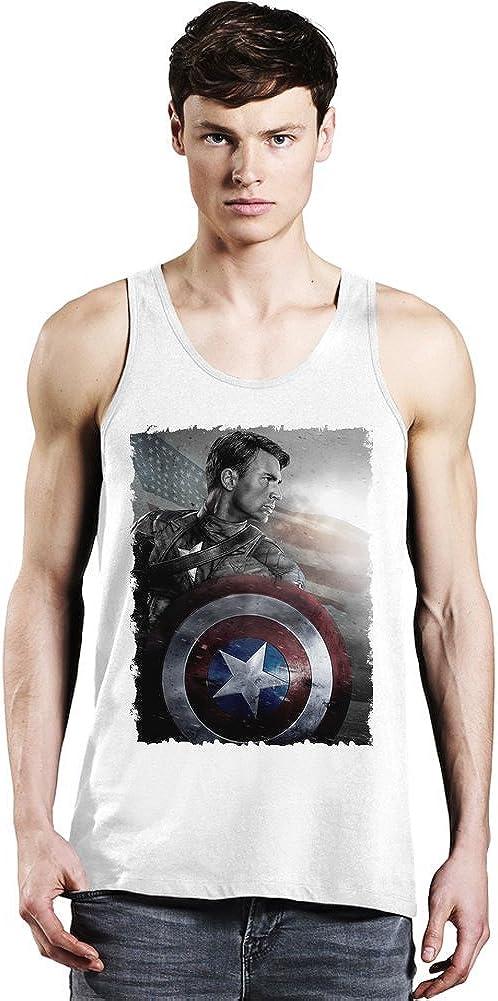 Chris Evans Captain America Tank Top: Amazon.es: Ropa y ...