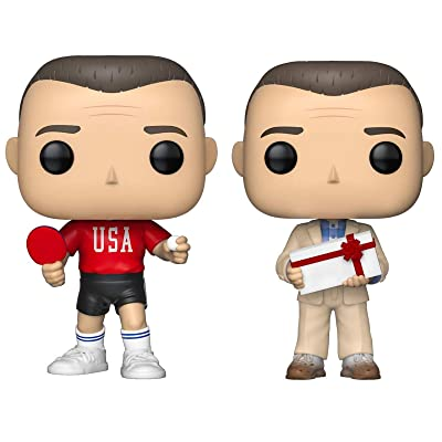 Funko Movies: Pop! Forrest Gump Collectors Set - Forrest in Ping Pong Outfit, Forrest with Chocolates: Toys & Games