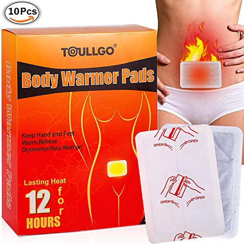 tick, Woman Menstrual Cramps Relief Patch, Keep Hand Feet Foot Warm Paste Pads Pad Relieve Dysmenorrhea Women, 12 Hours Lasting Heat (10 Packs) (Grabber Heated Glove)