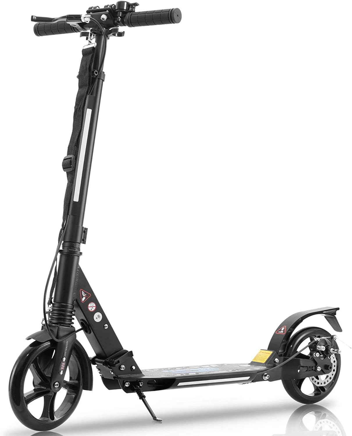 Tenboom Adults Scooters, Two Big Wheels Folding Kick