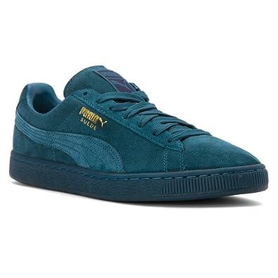 low cost 132c9 36509 PUMA Men's Suede Classic Mono ICED-M Sneaker