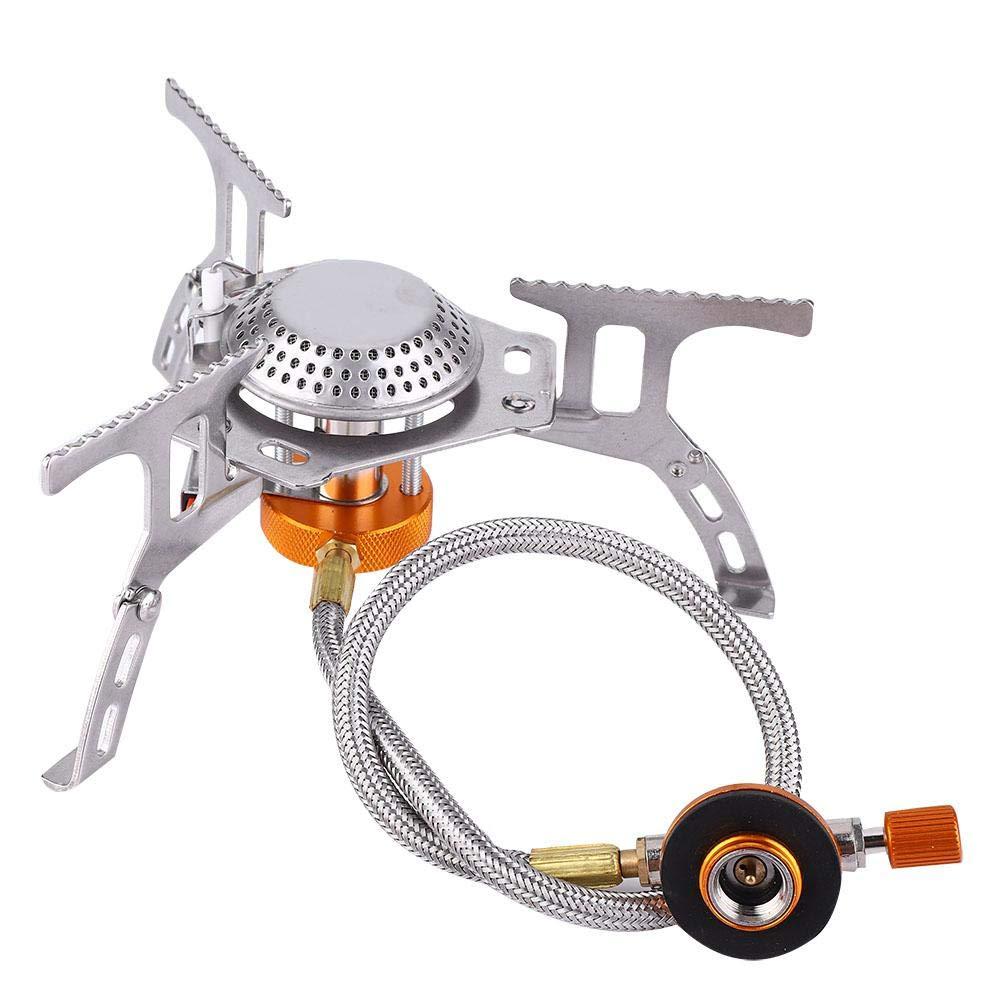 Estufa de Viaje Cocina Split Mini Estufas de Gas para Acampar 30/% Ahorro de Combustible Quemador de Barbacoa Estufa de Trekking Cookset